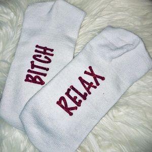 Accessories - B!TCH RELAX Ladies Tube Socks